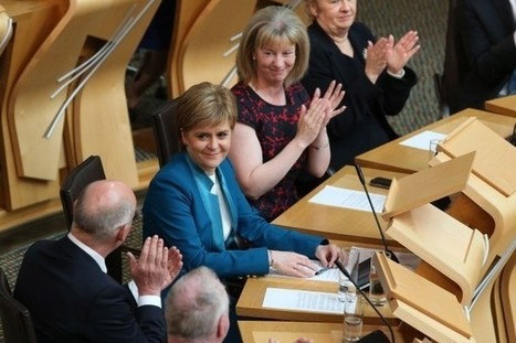 Sturgeon remains steadfast on independence as she's officially re-elected as FM | My Scotland | Scoop.it