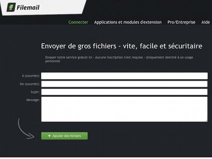 Filemail, envoyer des gros fichiers par Internet (30 Go gratuits) | TICE en tous genres éducatifs | Scoop.it