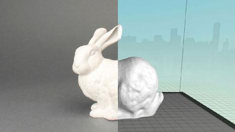 Convierte modelos físicos en diseños 3D con MakerBot Digitizer - unocero | Aurasma | Scoop.it