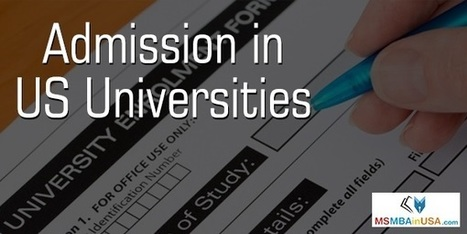 How to Get Admission To US Universities? | Profile Evaluation| University Search| Discussion Forum | Scoop.it
