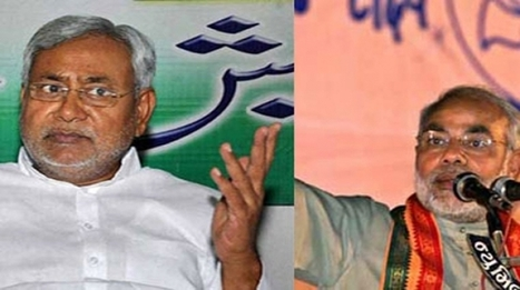 Nitish to stand by Modi as BJP campaign chief - Top Stories - National - News X | NaMo | Scoop.it