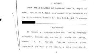 DOCUMENTO: El acta notarial en la que Cospedal comparte todos los poderes económicos del PP con Bárcenas | PPitorreo | Scoop.it