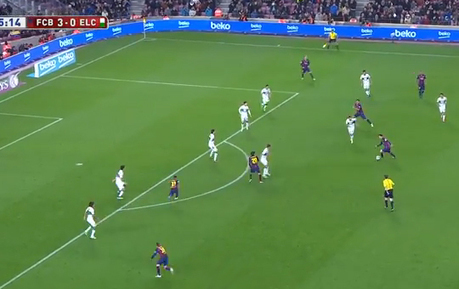 Absolute Genius Through Ball From Messi To Assist Jordi Alba's Goal | The Football Vault | Scoop.it