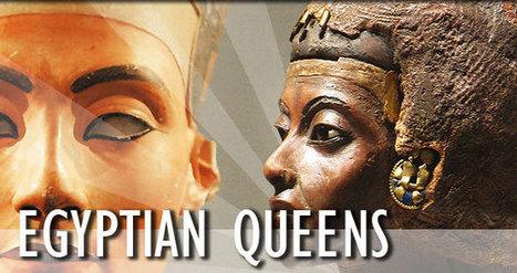Queens of Ancient Egypt | Reinas de la Antigüedad | Scoop.it
