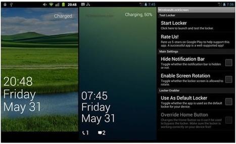 Mejores Apps de pantalla de bloqueo Android GRATIS   PCWebtips.com   Android - Aplicaciones y Tips   Scoop.it
