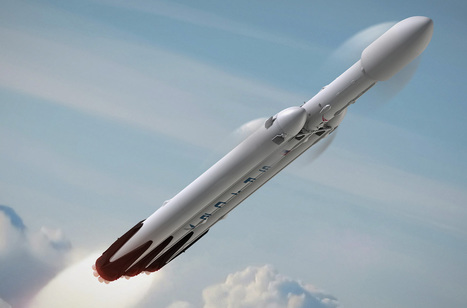 First flight of Falcon Heavy delayed again - Spaceflight Now | New Space | Scoop.it