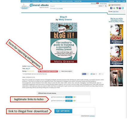 Has Your eBook Been Pirated? What To Do: Step 1   Les News sur l'Auto-Edition !   Scoop.it