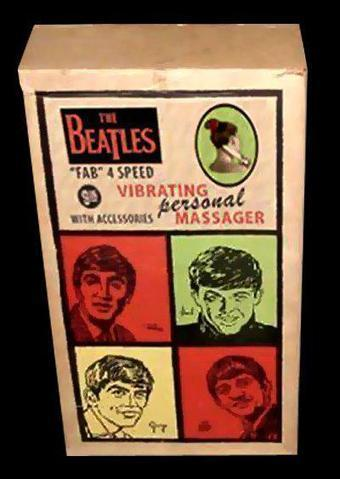 """The Beatles """"Fab"""" 4 Speed Vibrating Personal Massager   Sex History   Scoop.it"""