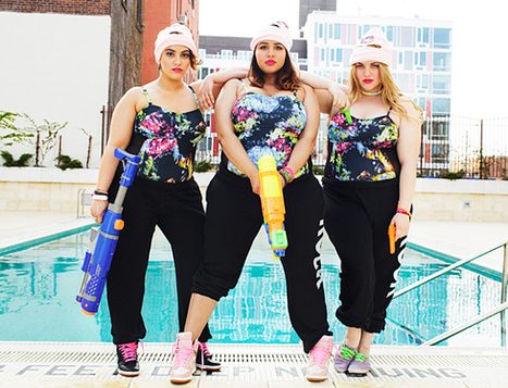 Style Blogger Gabi Gregg Dishes On Debut Plus Size Swimsuit Collection ... | Plus Size Events, networking and mixers | Scoop.it