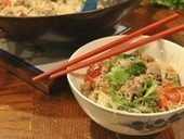 A quick stir-fry featuring rice noodles - San Angelo Standard Times | Healthy Eating - Recipes, Food News | Scoop.it