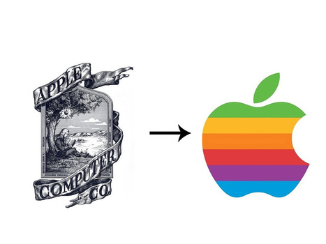 The 13 Most Drastic Big Brand Logo Changes Ever Seen | Logo Project TAFE | Scoop.it