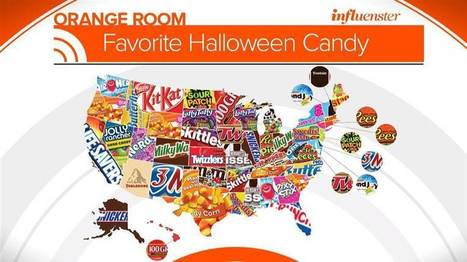 What is the most popular Halloween candy in your state? | Kickin' Kickers | Scoop.it