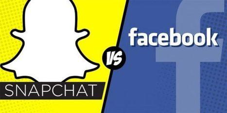 Réseaux sociaux : la vidéo au cœur du match Snapchat vs Facebook | Réseaux sociaux | Scoop.it