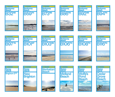 New Work: NYC Beaches | New at Pentagram | Avant-garde Art & Design | Scoop.it