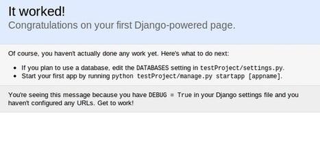 Introduction to Django: Guestbook application   DjangoCode   Scoop.it