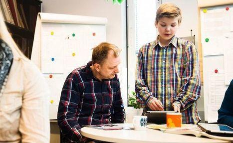 Oppilasagentit tekevät yllätysiskuja: Kirkkonummella alakoululaiset opettavat tietokoneiden käyttöä opettajille | Tablet opetuksessa | Scoop.it