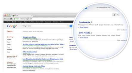 Google expands Gmail field trial; adds Drive and Calendar in search results - Digit | Gates | Scoop.it