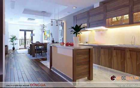 Cách bài trí tủ bếp gia đình đẹp, thuận tiện trang nhã | Thiết kế nội thất chung cư RoyalCity | Scoop.it