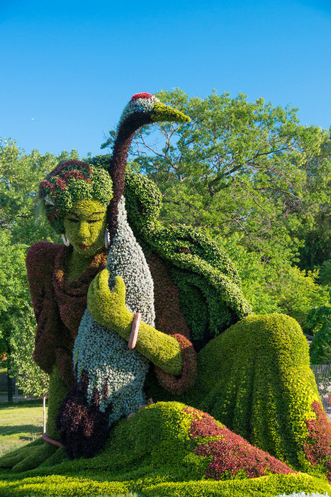 Monumental Plant Sculptures at the 2013 Mosaicultures Internationales de Montréal | Game Guides in Africa.. | Scoop.it