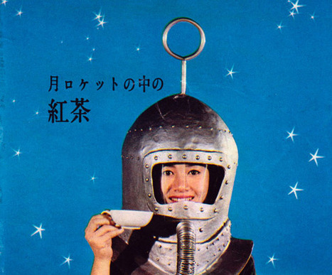 Vintage Spaceage Japanese Tea Ad | A Marketing Mix | Scoop.it
