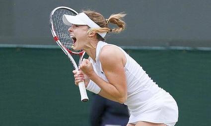 Cornet se paie Serena Williams ! - Wimbledon - Tennis - | Sport en direct | Scoop.it