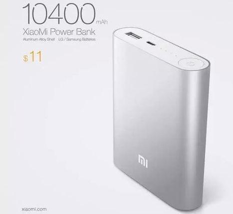 Xiaomi Power Bank: nuova batteria esterna da 10400mHa | Angariblog.net | angariano | Scoop.it
