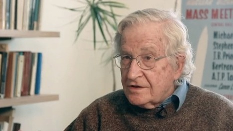 Noam Chomsky: U.S. used to have people killed for practicing what Pope Francis preaches | The Raw Story | Saif al Islam | Scoop.it