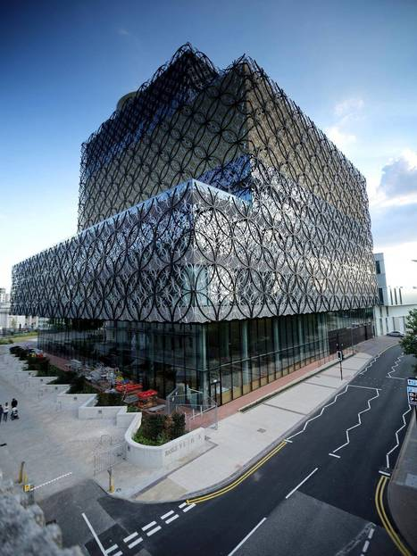 In pictures: A sneak peek inside the Library of Birmingham | Libraries | Scoop.it
