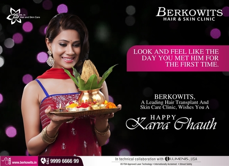 Karva Chauth Special | Berkowits Hair & Skin Clinic | Scoop.it