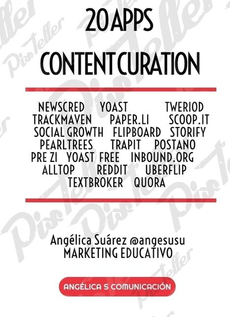 20 Apps para la creación y curación de contenidos #contentcuration by @angesusu | Pedalogica: educación y TIC | Scoop.it