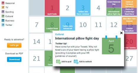 Editorial Calendar on Twitter | Social Media Today | Outils CM | Scoop.it