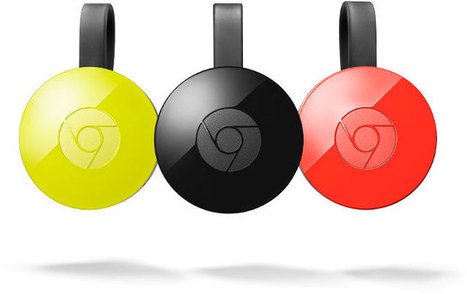 ChromeCast 2.0 and ChromeCast Audio Announced for $35 | Embedded Systems News | Scoop.it