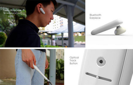 BlindSpot: Smart cane concept looks to future | Curation, Gamification, Augmented Reality, connect.me, Singularity, 3D Printer, Technology, Apple, Microsoft, Science, wii, ps3, xbox | Scoop.it
