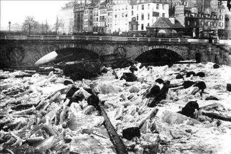 Pour construire le métro, si on gelait la Seine ? | Histoire(s) de Paris | GenealoNet | Scoop.it