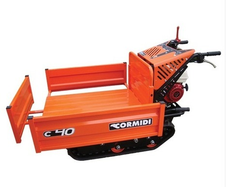 Tracked Dumper | Site Dumpers | Mini Dumpers | Powered wheelbarrow | Construction Products | Construction Products | Scoop.it