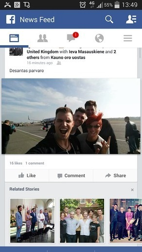 Facebook now placing related stories under personal posts | MarketingHits | Scoop.it