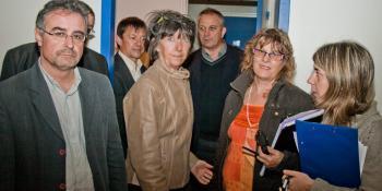 Aignan. Le conseil général visite le Collège vert - La Dépêche   Le Collège Vert dans la Presse   Scoop.it