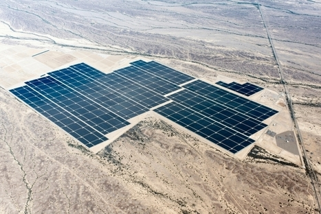 World's Largest Solar Array Set to Crank Out 290 Megawatts of Sunshine Power | Sustain Our Earth | Scoop.it