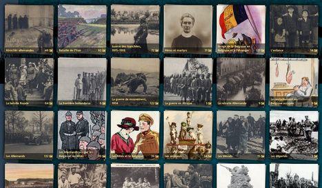 La guerre 1914-1918 en cartes postales - RTBF 14-18 | Nos Racines | Scoop.it
