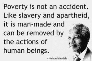 """Powerful Pictures on Twitter: """"Mandela on poverty. http://t.co/wHR07FKldA"""" 
