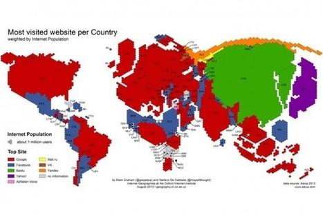 Google, Facebook Top The 'Age of Internet Empires' Chart - redOrbit | revue de presse économique | Scoop.it