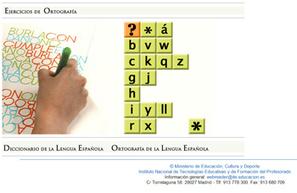 Ejercicios interactivos online para mejorar la ortografía | Las TIC y la Educación | Scoop.it