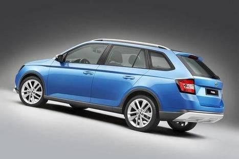 Skoda lance le break Fabia Combi Scoutline | 694028 | Scoop.it