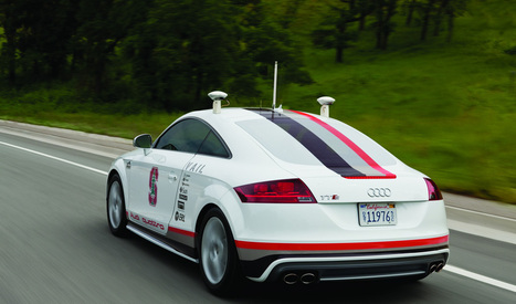 Audi Got Permission to Try Out Self-driving Cars in California | World Leaks | US tapped phones of 35 world leaders as spy drama grows | Scoop.it