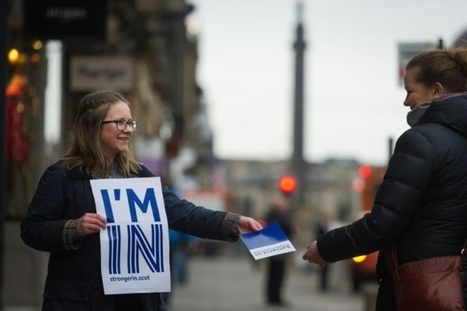 Support for Remain strengthening in Scotland, new poll shows   Politics Scotland   Scoop.it