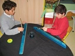 Photos de l'atelier de fabrication de jeux au centre de loisirs Jacques Brel à Liévin - Association Wellouëj   jeux du monde   Scoop.it