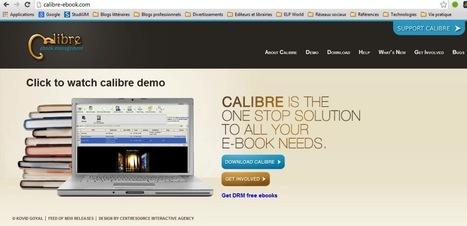 Lecture numérique: Organiser sa bibliothèque avec Calibre | BibliUnivers (Licence Pro) | Scoop.it