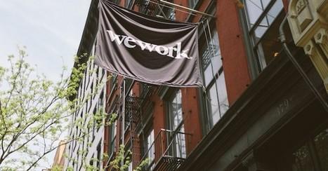 Valorisé 16 milliards de dollars, WeWork veut bouleverser les espaces de travail | Le Journal des RH | Teletravail et coworking | Scoop.it