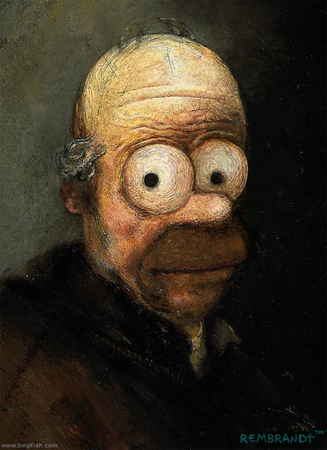 Classic Paintings Recreated With Famous Characters | graphic-design | Scoop.it