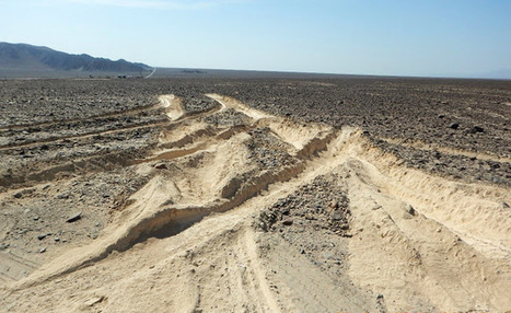 Truck driver ploughs through Peru's ancient Nazca lines | Heritage in Danger | Scoop.it